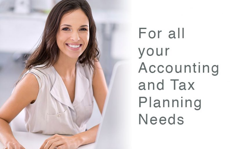For All Your Accounting And Tax Planning Needs